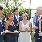 Beth Broderick, Michael Gross, Ryan Rottman, Brad Benedict, Becca Tobin, and Chelsea Gilson in Sister of the Bride (2019)