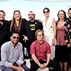 Tantoo Cardinal, Kevin Smith, Camryn Manheim, Adrian Martinez, Michael Ealy, Cobie Smulders, Jake Johnson, and Cole Sibus at an event for Stumptown (2019)