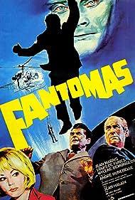 Louis de Funès, Mylène Demongeot, André Hunebelle, and Jean Marais in Fantômas (1964)