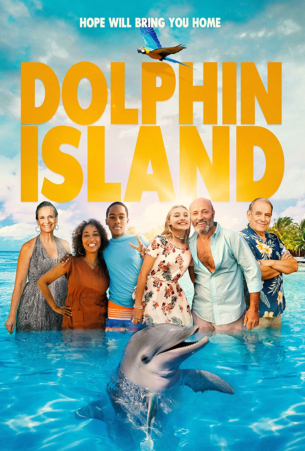 Dolphin Island 2021 English 720p HDRip 800MB
