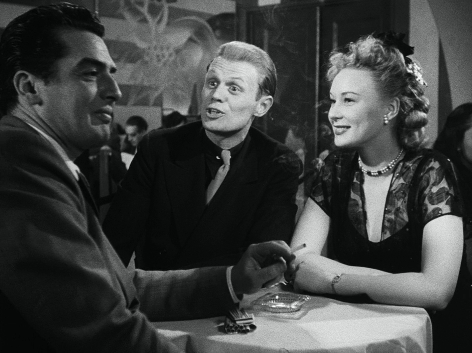 Victor Mature and Richard Widmark in Kiss of Death (1947)