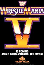 Primary image for WrestleMania V