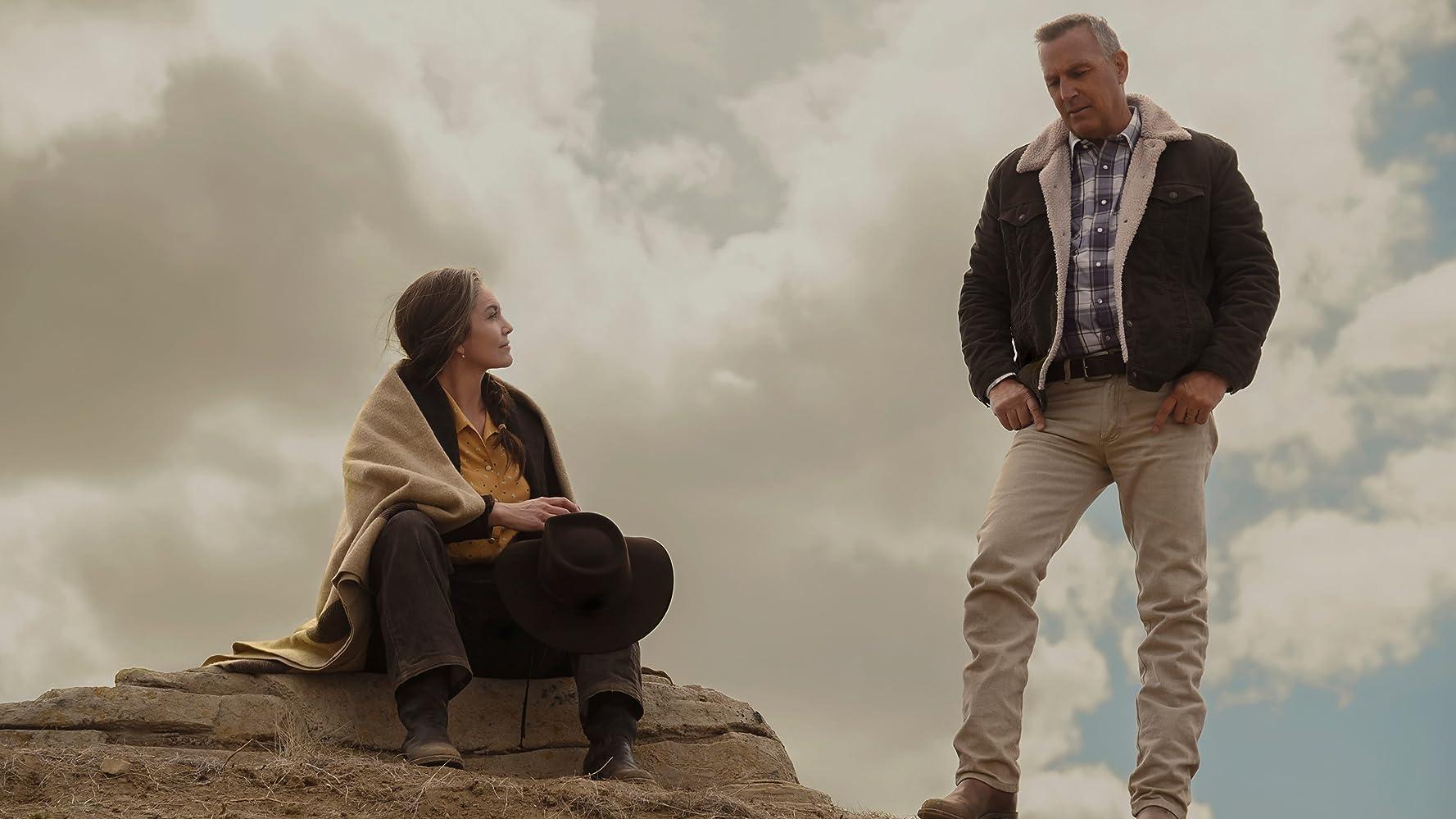 Kevin Costner y Diane Lane en Let Him Go (2020)