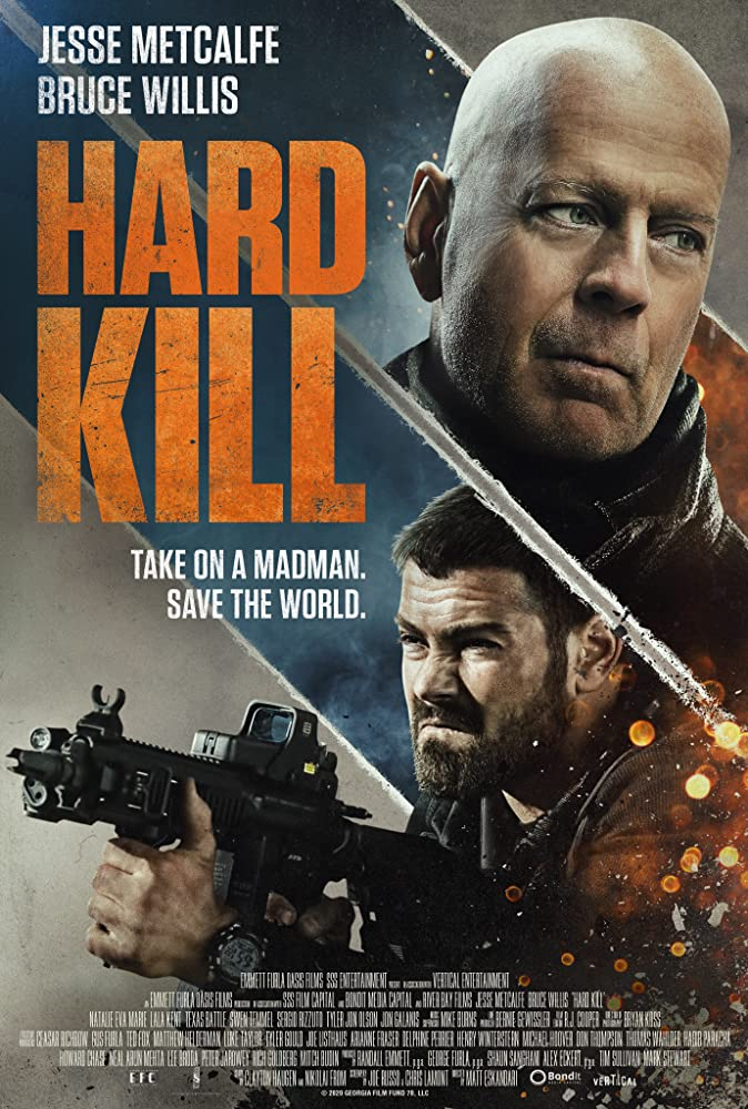 Hard Kill (2020) English 720p HDRIp Esubs DL