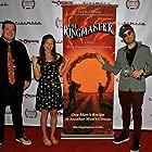 Zachary Capp, Molly Dworsky, Dave Newberg at Silver State Film Festival, Las Vegas
