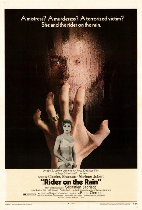 Marlène Jobert in Le passager de la pluie (1970)