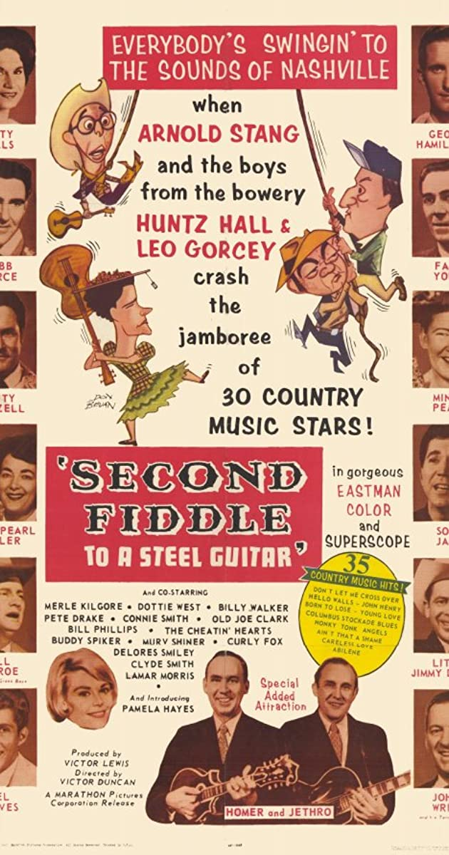 Second Fiddle To A Steel Guitar 1965 Imdb