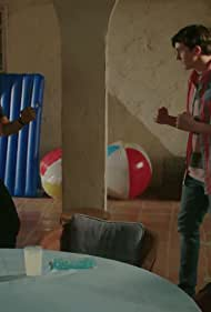 Ralph Macchio and Gianni DeCenzo in Cobra Kai (2018)