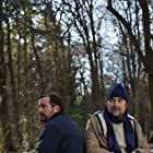 Joel Beckett and Nathaniel Parker in Hunting Bears (2021)