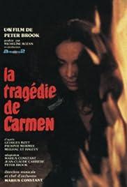 La tragédie de Carmen Poster