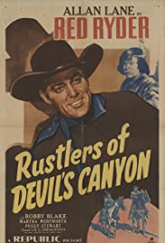 Rustlers of Devil's Canyon Poster