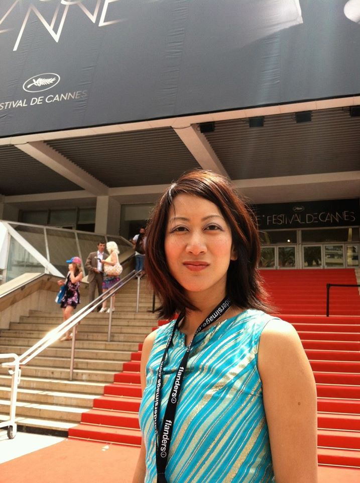 Betty Ouyang at Palais des Festivals for the 65th Annual Cannes Film Festival; May 25, 2012