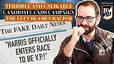 Candidato terrible e improbable finaliza campaña. La izquierda culpa al racismo.