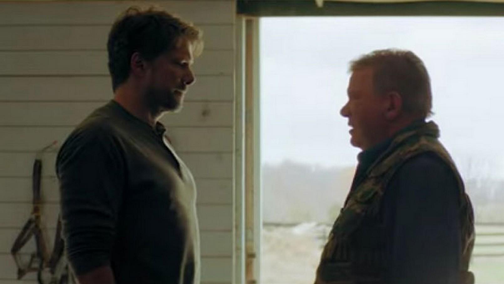 William Shatner and Jason Brooks in Devil's Revenge (2019)