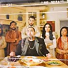 Neelam Bakshi, Nitin Ganatra, Hayley Tamaddon, Naithan Ariane, Asim Chaudhry, and Shila Iqbal in Eaten by Lions (2018)