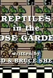 Reptiles in the Rose Garden Poster