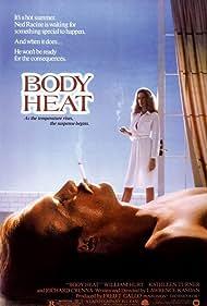 William Hurt and Kathleen Turner in Body Heat (1981)