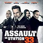 Mark Dacascos, Sean Patrick Flanery, Gina Holden, Brittany Underwood, and Gerald Webb in Assault on VA-33 (2021)