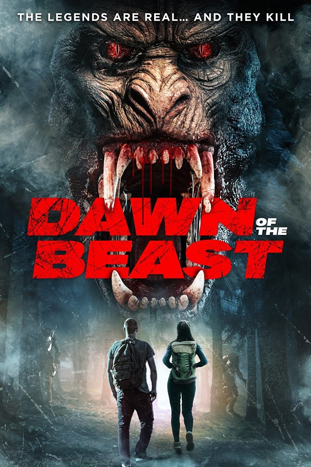 Dawn of the Beast 2021 English 720p HDRip ESubs 796MB | 250MB Download