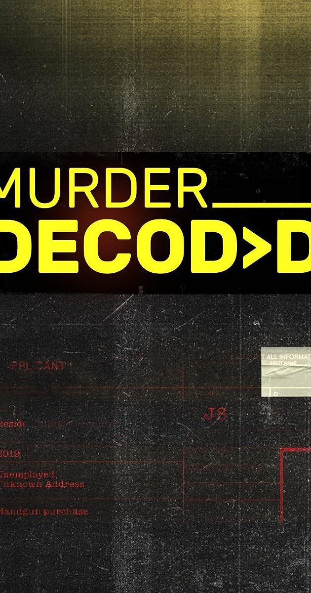 download scarica gratuito Murder Decoded o streaming Stagione 1 episodio completa in HD 720p 1080p con torrent