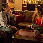 """Lorne Cardinal as """"Angus Coleman"""" and Jill Hennessy as """"Sandy Taylor"""" in If I Had Wings"""