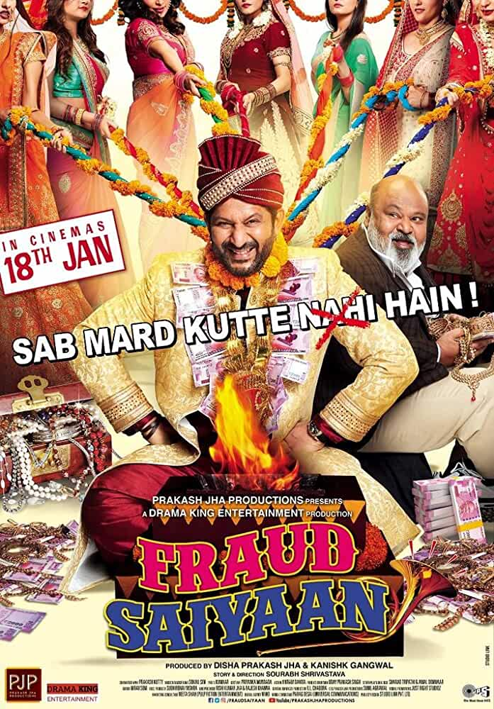 Fraud Saiyyan (2019) Hindi 1CD Pre Rip x264 700MB