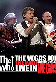 The Who: The Vegas Job Poster