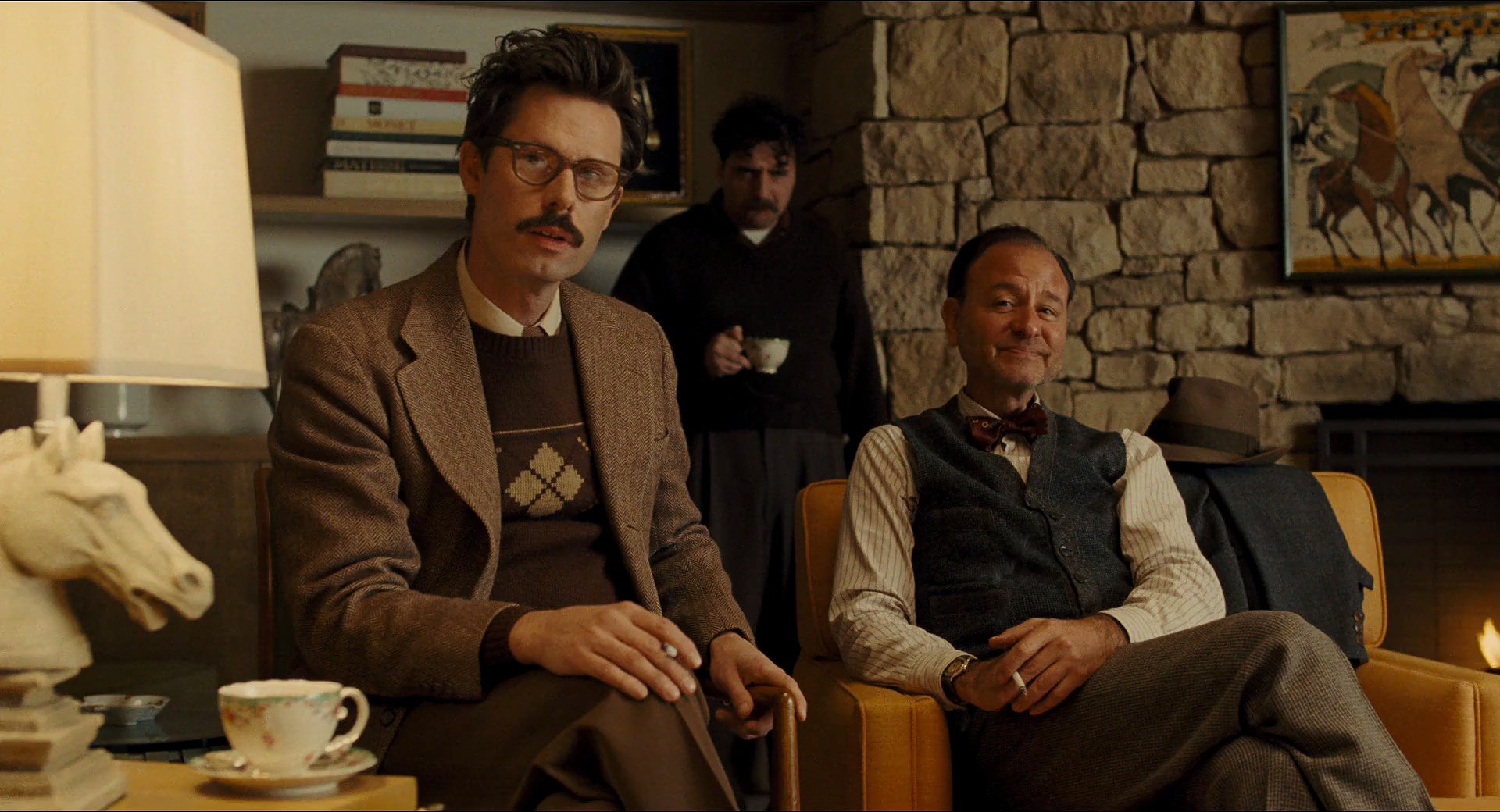 Fisher Stevens, David Krumholtz, and Tom Musgrave in Hail, Caesar! (2016)