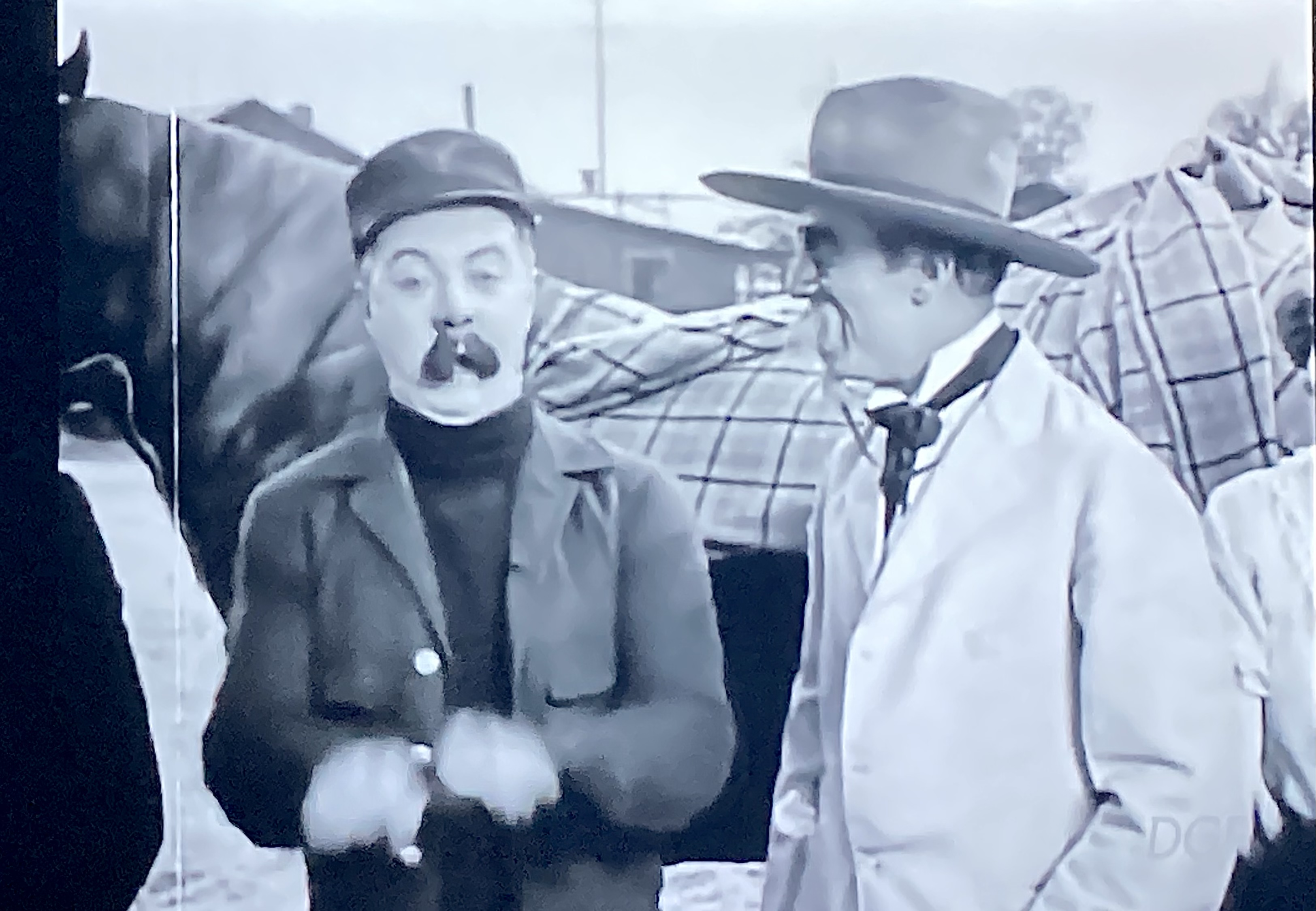 Billy Bevan and Andy Clyde in The Iron Nag (1925)