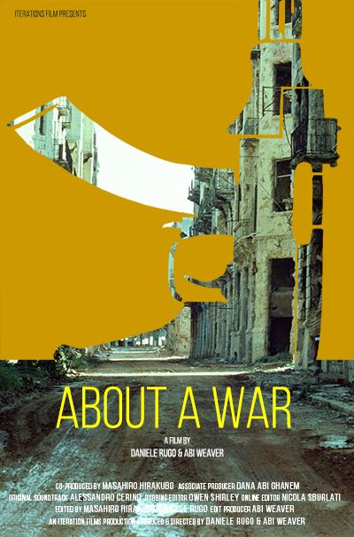 Poster About a War