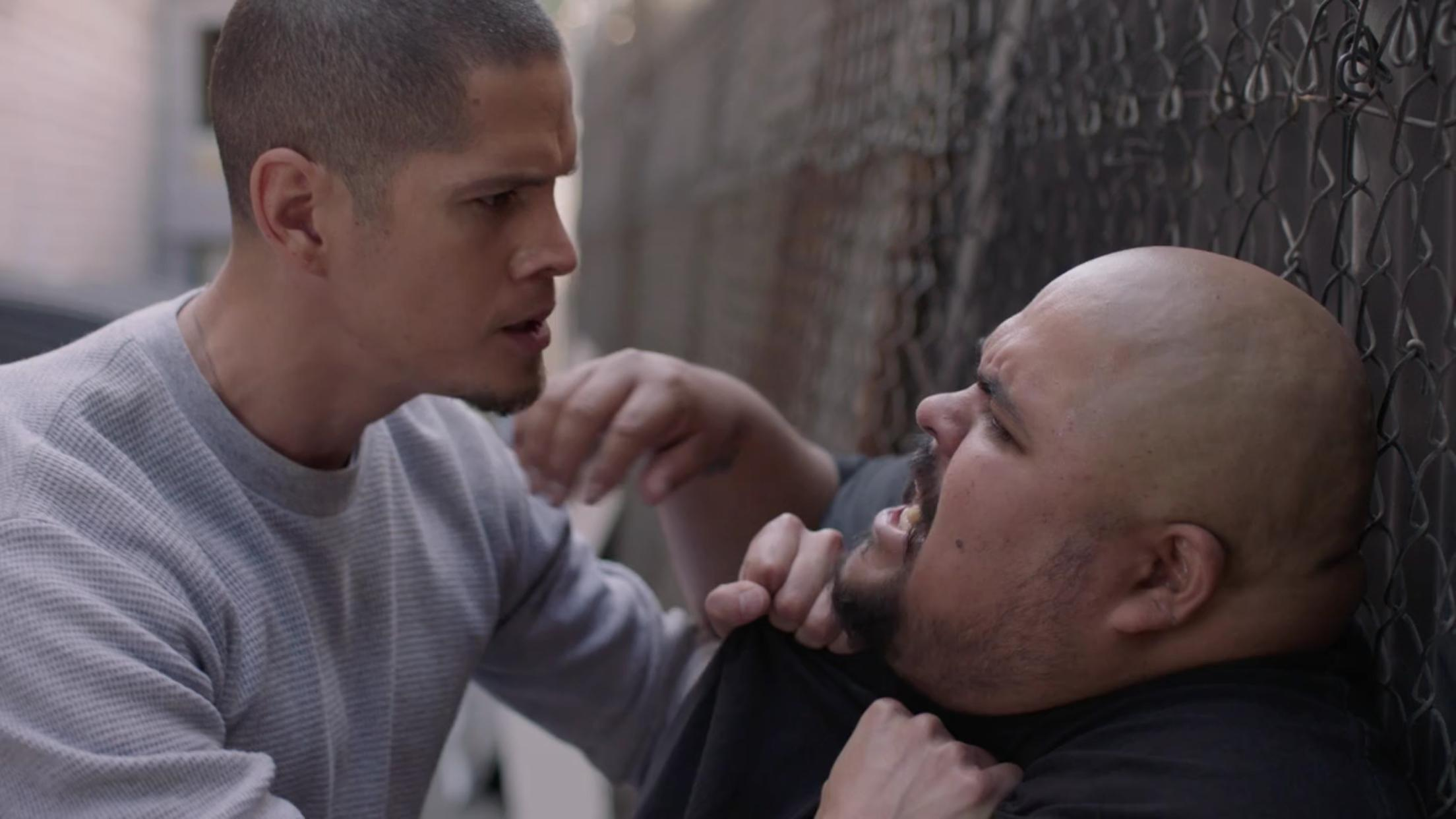 JD Pardo and Mike G. in East Los High (2013)