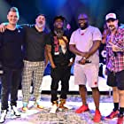 Coolio, Joey Fatone, Nick Carter, A.J. McLean, and Wanya Morris at an event for The After Party (2018)