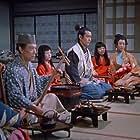 Toshirô Mifune and Kô Mihashi in Zoku Miyamoto Musashi: Ichijôji no kettô (1955)