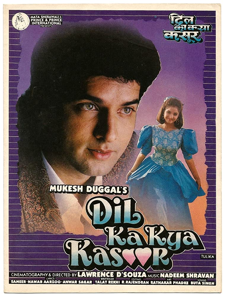 Dil Ka Kya Kasoor (1992) Hindi 720p HDRip x264 1.2GB