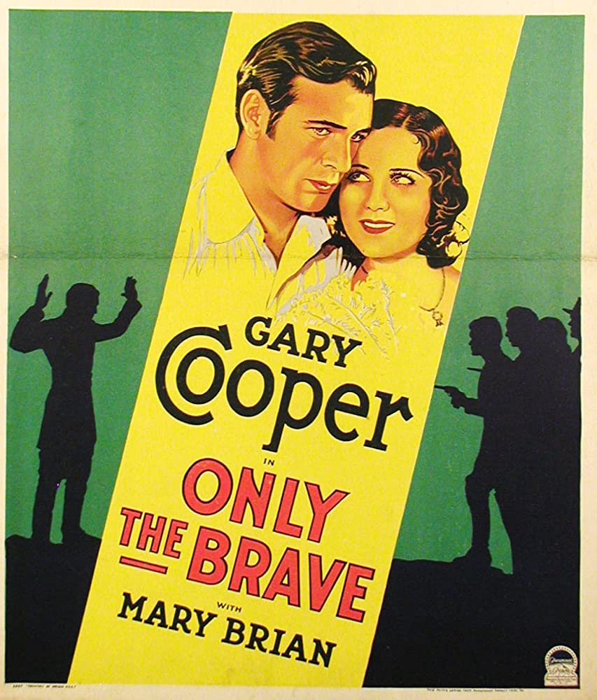 Gary Cooper and Mary Brian in Only the Brave (1930)