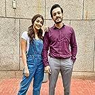 Akhil Akkineni and Pooja Hegde in Most Eligible Bachelor (2021)