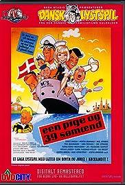 Een pige og 39 sømænd Poster