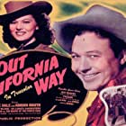 Robert Blake, Lorna Gray, and Monte Hale in Out California Way (1946)