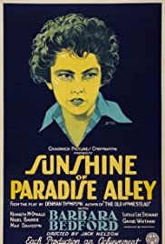 Sunshine of Paradise Alley (1926) Poster - Movie Forum, Cast, Reviews