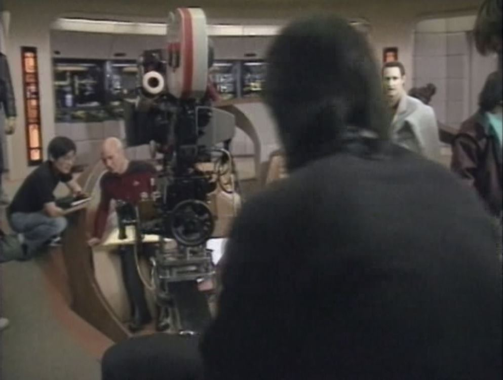 Brent Spiner and Patrick Stewart in Star Trek: The Next Generation (1987)