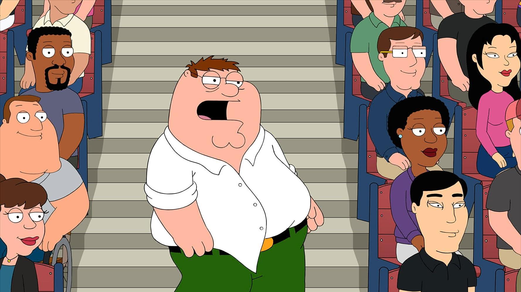 Seth MacFarlane and Patrick Warburton in Family Guy (1999)