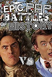 Sir Isaac Newton vs. Bill Nye Poster