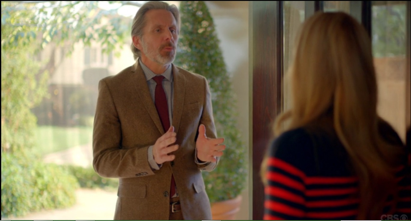 Gary Cole and Maggie Lawson in Angel from Hell (2016)