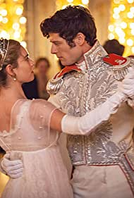 James Norton and Lily James in War & Peace (2016)
