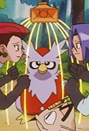 Team Rocket and Delibird! Poster