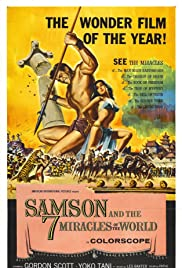 Samson and the 7 Miracles of the World Poster
