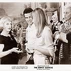 Bette Davis, Horst Buchholz, Isa Miranda, and Catherine Spaak in La noia (1963)