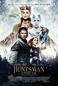 Charlize Theron, Chris Hemsworth, Emily Blunt, and Jessica Chastain in The Huntsman: Winter's War (2016)