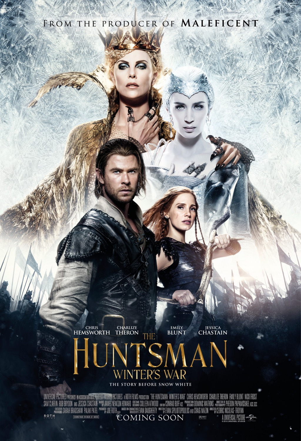 The Huntsman: Winter's War (2016) BluRay 480p, 720p, 1080p & 4K-2160p