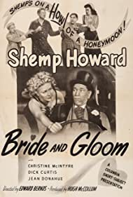 Dick Curtis, Shemp Howard, Christine McIntyre, and Jean Willes in Bride and Gloom (1947)
